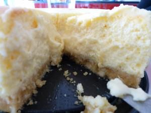 Cheesecake Nahaufnahme