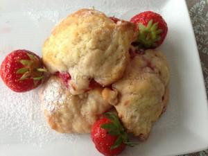 Erdbeer-Cookie Trilogie