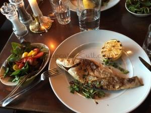 Fisch am Abend war ebenfalls unser kulinarisches  Highlight!
