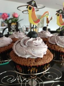Heidelbeer-Cupcake