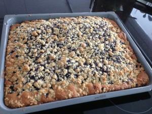 Heidelbeer-Streusel-Kuchen Blech