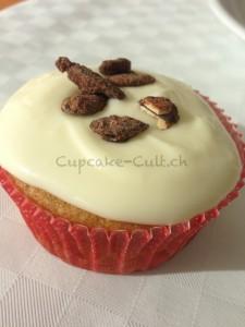 Kürbis-Cupcake