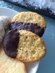 Orangen-Schokoladen-Kekse