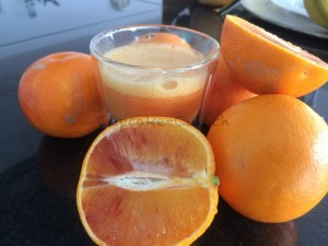 Orangensaft pur