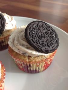 Oreo Cookie Cupcake Weihnachten