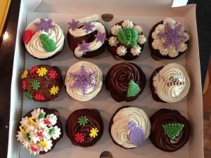 Schokoladen Selektion Cupcakes