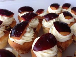 Zwetschgen-Cupcakes nah