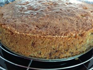 fertiger Kuchen ohne Verzierung und Füllung