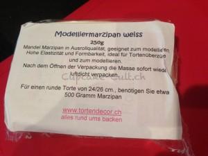 verwendete Marzipan